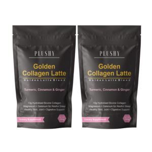 2 x Golden Collagen Latte